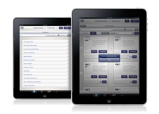 Lifetech iPad Application