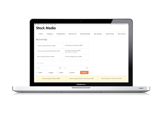 Stock Media Sale Agency – An E-commerce digital portal