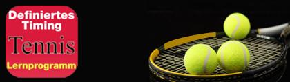 Tennis and Ski – Lernprogramm – Definiertes Timing